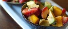 Ensalada de fresa, mango y aguacate - Cocina y Vino