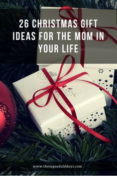 Christmas is coming!  What should you get the mom in your life?  Here are 26 gift ideas to get you started.  Plus - free printable coupons to help ease Mom's burdens!