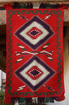 Navajo Blankets 1860-1900, Masterpieces from the Loom - Navajo Germantown Blanket