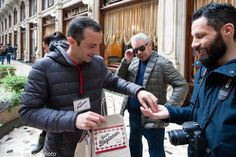 i deliziosi assaggi di #cioccolato  di #Torino dalla #Bogianen #bag