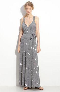 Diane von Furstenberg 'Samson' Maxi Wrap Dress