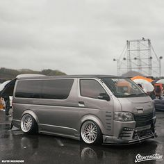 We dropping more of this on www.StanceNation.com soon! | Photo by: @sn_elvis #stancenation Toyota Van, Toyota Hiace, Stance Nation, Camper Van, Jdm, Vans, Minivan, Twisted Humor, Pit Bulls