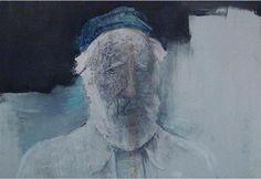 Untitled - Chronis Botsoglou Art Database, Figurative, Painters, Greek, Portrait, Abstract, Summary, Headshot Photography, Portrait Paintings