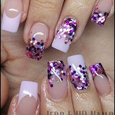 80 ideas to create the best Halloween nail decoration - My Nails Nail Polish Designs, Cute Nail Designs, Cute Acrylic Nails, Cute Nails, Confetti Nails, American Nails, Nail Polish Art, Nail Envy, Glam Nails