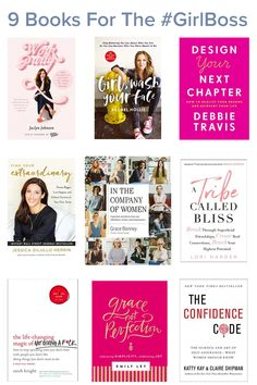 Books For The GirlBoss Styled to Sparkle is part of Girl boss book - Books for the career driven woman, the female entrepreneur and the all out girlboss! These reads are sure to inspire and look cute on the shelf once read! Best Books To Read, Good Books, Books To Read In Your 20s, Self Love Books, Girl Boss Book, Entrepreneur Books, Leadership, Personal Development Books, Book Lists