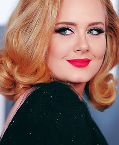 Adele is one of the most popular and acclaimed vocalists in the world! She is also a Type 4 bold, striking beauty whose nature is clear in her powerful and poignant music. #beautyprofiling