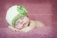 www.KristaConlonPhotography.com  Newborn girl Crochet Hats, Photography, Fashion, Knitting Hats, Moda, Photograph, Fashion Styles, Fotografie, Photoshoot
