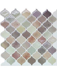 peel stick mosaic tile sticker