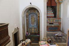 Vila de Óbidos - Igreja transformada em biblioteca e livraria