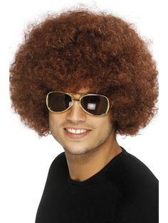 70's Funky Afro Wig | Frojos.co.uk