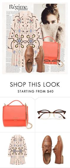 """Untitled #626"" by zlatiii ❤ liked on Polyvore featuring Anja, Givenchy, Ray-Ban, Peter Pilotto and Gap"