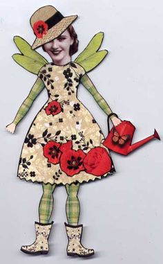 Paper Doll by Jackie McColl
