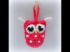 Sovička Dolphin Crochet owl - YouTube Owl, Christmas Ornaments, Holiday Decor, Crochet, Youtube, Xmas Ornaments, Crochet Hooks, Owls, Christmas Jewelry