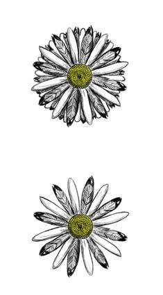 Daisy tattoo design by ChiObsidian.deviantart.com on @deviantART