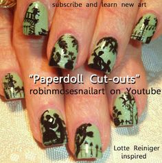 Paper doll nails