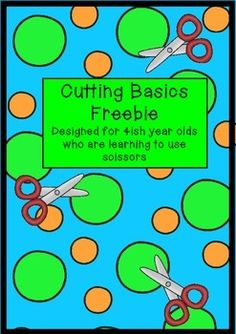 """A 7 activity mini pack.... 7 cutting activities to help kindy/prep kids learn to use scissors and develop their cutting and scissor skills.Aimed at 3, 4 and 5 year olds.SD licence: TPT139139I'm currently making a bigger pack and have put this mini pack out to see what interest there is in the resource - please leave feedback!Don't forget to find me on facebook -search for """"Miss Simplicity's Classroom"""""""
