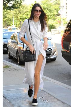 Get outfit inspiration from Kendall Jenner's always inspiring model off duty street style looks.