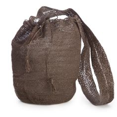 From Sierra Nevada de Santa Marta in the northeast of Colombia the bags are woven by female members of the indigenous Kankuamo tribe style, muzungu sister, tree branches, fiqu mochila, brown fiqu, veil, bags