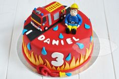 #Tarta Sam el bombero - Cake