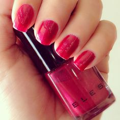 ELES Nail Polish in Cherry Bomb ♥ My nails look like CANDY!  #elescosmetics     www.elescosmetics.com.au
