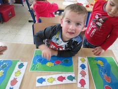 Eerste kleuterklas VBS Sint-katrien Daycare Themes, Preschool Themes, The Ocean, World Water Day, Under The Sea Theme, Church Nursery, Sorting Activities, Taste The Rainbow, Sea Fish