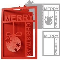 Silhouette Design Store: christmas card