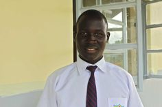 Meet BongominJohnson, a student in our Legacy Scholarship Program