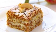 Gestreuter Tassenkuchen mit Äpfeln Sure you know the delicious apple pie with pudding. This is a recipe for a simple but delicious apple pie. Easy Baking Recipes, Cookie Recipes, Dessert Recipes, Cupcake Recipes, Czech Recipes, Croatian Recipes, Food Cakes, Healthy Desserts, No Bake Cake