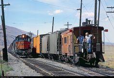 RailPictures.Net Photo: MILW 131 Milwaukee Road EMD SD40-2 at Beverly, Washington by Bill Edgar