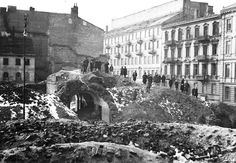 News of the 1944 uprising in Warsaw was censored in the West. The devastation led to hundreds of thousands of civilian deaths. Intensive bombing occurred in an area less than a square mile.
