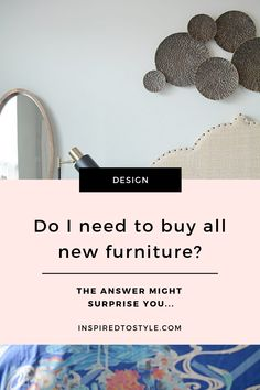 Can I share with you one of the biggest myths people have about design projects?It's the assumption that you need to get rid of ALL of your old furniture and start with a blank slate. Dining Decor, Dining Room Design, Living Room Decor, Bedroom Decor, Interior Design Photography, Interior Design Advice, Interior Design Inspiration, Design Guidelines, Create Space