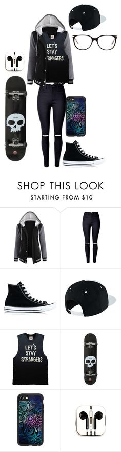 """Untitled #150"" by darksoul7 on Polyvore featuring Converse, NIKE, Casetify, PhunkeeTree and Victoria Beckham"