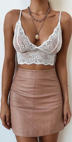 The Lucky Lady Bralette + Tameka Skirt / #TigerMist