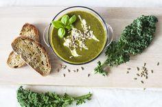 Zupa krem z jarmużu