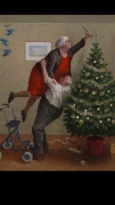 Funny Christmas Ornaments, Christmas Scenes, Christmas Quotes, Christmas Pictures, Christmas Angels, Christmas Art, Christmas Humor, Vintage Christmas, Christmas Holidays