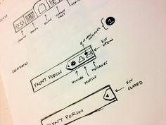 Dribbble - UX Sketch Header - Dock Function by Stiles Lowe