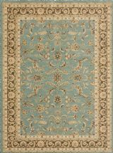 Loloi Rugs :: Traditional Stanley rug in Blue Brown #global #sdrugoutlet