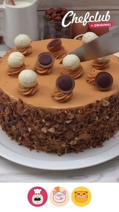 Easy Desserts, Delicious Desserts, Yummy Food, Sweet Recipes, Cake Recipes, Dessert Recipes, Cakes That Look Like Food, Kreative Desserts, Easy Baking Recipes