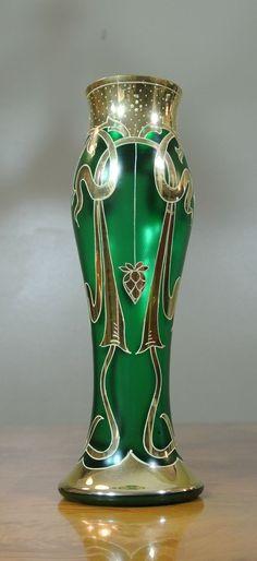 Vases – Home Decor :     Silver overlay onto art glass    -Read More –   - #Vases https://decorobject.com/decorative-objects/vases/vases-home-decor-silver-overlay-onto-art-glass/