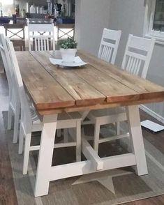 A satisfied customer sent me a picture of a #Pirtti #diningtable I made her a week ago! Looking great! #ruokapöytä #puutyösalonen #puutyosalonen #pori #finland #custom #design #furniture #table #pöytä #lankkupöytä #handmade #furnituremaker #designfurniture #interior #interiordesign #custommade #craft #carpenter #carpentry #bord #lantliv #countrystyle #rustic #rustiikki #rustiikkihuonekalut #rusticfurniture by puutyosalonen
