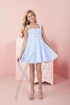 ec5d7306a XO by Hannah S 37014 Dress. Blue DressesPretty DressesShort DressesGirls ...