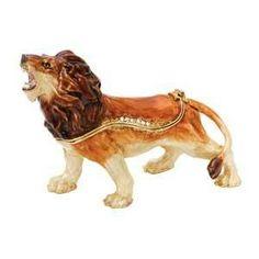 Lion Trinket Box  $39.95 www.Cute-Boxes.com