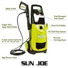 Sun Joe SPX3000 2030 PSI 1.76 GPM Electric Pressure Washer Review Best Pressure Washer, Pressure Washers, Electric, Sun, Tips, Pressure Washing, Counseling, Solar
