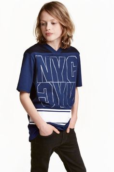 Long cotton T-shirt | H&M