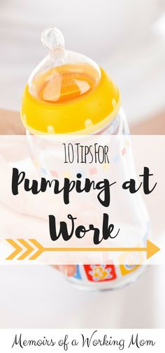 Going back to work after maternity leave? In a pumping rut? READ THESE TIPS! Great advice from a pumping mom.