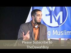 3 Goals to be a better Muslim - Nouman Ali Khan  1. Worship 2. Knowledge 3. Services