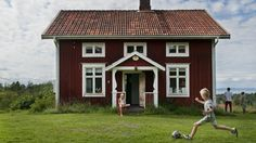 Image result for scandinavian red cottage working