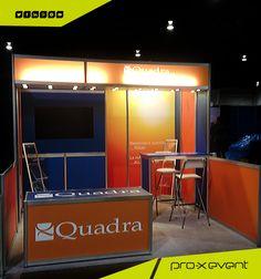 Quadra Chemicals display designed by pro-x event, #custom #event #display #Toronto www.proxevent.ca