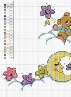 Thrilling Designing Your Own Cross Stitch Embroidery Patterns Ideas. Exhilarating Designing Your Own Cross Stitch Embroidery Patterns Ideas. Baby Cross Stitch Patterns, Cross Stitch For Kids, Cross Stitch Baby, Cross Stitch Animals, Cross Stitch Charts, Cross Stitch Designs, Baby Embroidery, Cross Stitch Embroidery, Embroidery Patterns