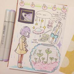 sticker journal... 10-24